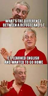 Rodney Dangerfield Memes - immigration with rodney