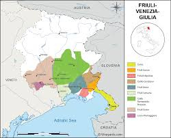 Provinces Of Italy Map Italy Map Of Vineyards Wine Regions