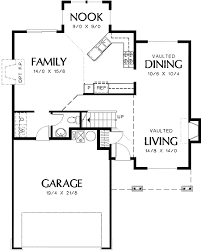 family home floor plans small family home with luxurious master 69276am architectural