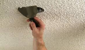 Removing Cottage Cheese Ceiling by How To Remove Popcorn Ceiling Texture Pro Construction Guide