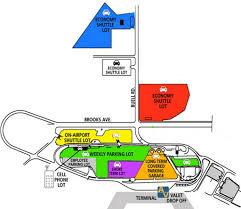 Map Of San Francisco Airport by Airport Parking Maps For Richmond Sacramento San Antonio San