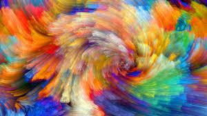 Vibrant Wallpaper | wallpaper vibrant colorful bloom fractals textures 5k abstract