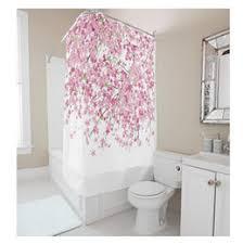 Pink Flower Shower Curtain Discount Pink Shower Curtain 2017 Pink Shower Curtain On Sale At