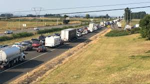 Dot Seattle Traffic Map by Anticipated Traffic Nightmare Hits Oregon Following Eclipse