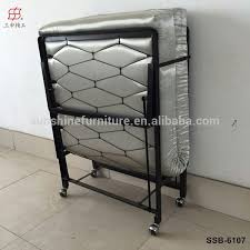 Single Folding Bed Single Folding Bed With Foam Mattress Single Folding Bed With