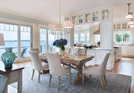 Coastal Dining Room Furniture Coastal Dining Room Theme Décor For A Maximum Calmness And Peace