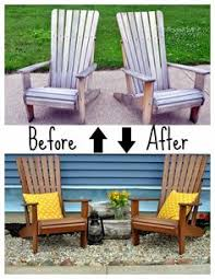 Making Wooden Patio Chairs by How To Weather Proof Outdoor Furniture Fixing The Adirondack