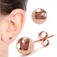 6mm stud earrings 6mm stud earrings gold ss shuziusa
