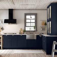 ikea navy blue kitchen cabinets axstad matt blue door 20x80 cm ikea