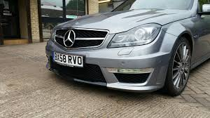 mercedes led headlights mercedes w204 c63 facelift headlights and led tail lights