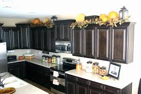ideas for space above kitchen cabinets ideas for space above kitchen cabinets fresh decorating ideas