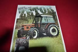 zetor 6211 6245 tractor dealer u0027s brochure lcoh u2022 13 49 picclick