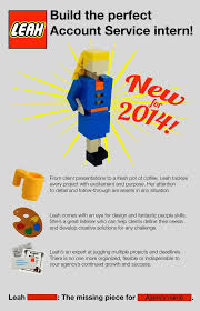 Resume For Advertising Job by Lego Build An Intern Is This The Best Cv Ever Metro News