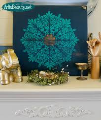 art is beauty diy medallion wall art from an old shelf