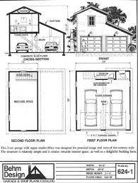 garage with loft floor plans loft garage plans ready to use pdf garage plan from behm