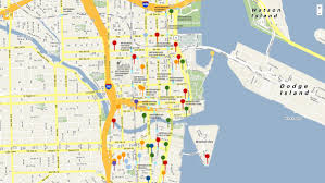 Miami Dade College North Campus Map by Crane Watch Miami Brickell South Florida Business Journal