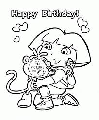 dora thanksgiving coloring pages download coloring pages happy birthday coloring page my little