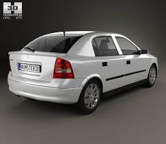 opel silver opel astra g liftback 1998 3d model hum3d