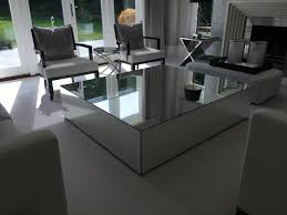 Infinity Mirror Desk Mirror Coffee Table For Coffee Tables Thippo