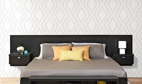 black headboards tall headboards for king beds shasha black suede