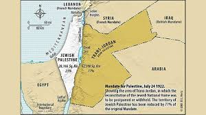 Map Of Syria And Israel by Israel U0027s History Zionism And The Balfour Declaration Part 3 Of 4