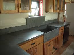 Wood Kitchen Countertops White Wood Kitchen Counter And Black Slate Kitchen Counter Tops
