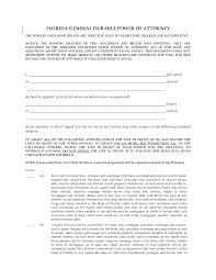Durable Power Of Attorney Form Florida by Best Photos Of Florida Durable Power Attorney Form Power Of