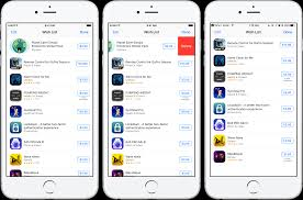 top right how to use wish list to track ios apps and games
