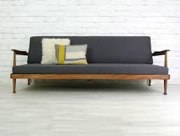 retro danish modern daybed sofa mid century danish modern