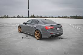 maserati quattroporte body kit a maserati ghibli with adv 1 wheels and a wald bodykit installed