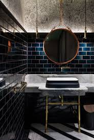 best ideas about restaurant bathroom pinterest public dramatic effect with mix classic brass detailing mirror contemporary lighting condo bathroomboy