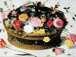 basket of flowers basket of flowers posters prints by jan brueghel