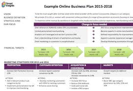 Business Template Plan by Business Plan Summary Template Smart Insights
