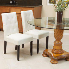 White Leather Dining Room Chairs White Leather Dining Room Chair And Its Benefits Home Decor