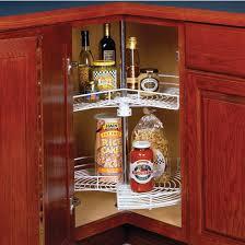 Kitchen Cabinet Lazy Susan Knape U0026 Vogt Lazy Susans For Kitchen Cabinets Corner Cabinets