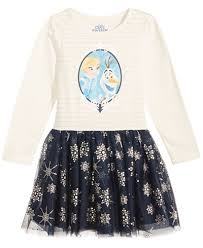 disney frozen elsa u0026 olaf tutu dress toddler girls 2t 5t