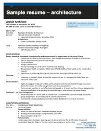 Architectural Resume Examples by Chronological Resume Definition Format Layout 103 Examples