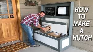 how to make a hutch youtube