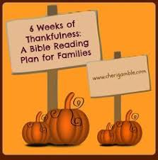free bible study on thanksgiving for your family 30 days of
