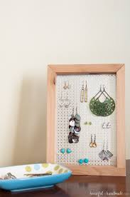 easy earrings easy diy earring stand a houseful of handmade