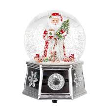 spode tree 5 5 inch santa musical snow globe spode usa