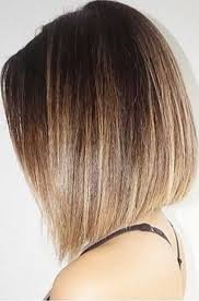 brown and blonde ombre with a line hair cut 15 beautiful ombre bob hairstyles straight bob ombre and bobs