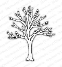 impression obsession bare tree die die006 v 123stitch