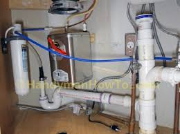 Under Sink Water Filter Faucet How To Install A Kitchen Instant Water Dispenser Faucet And