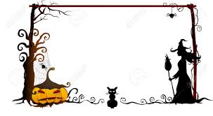 halloween party borders images of halloween frames halloween bat magnetic picture frames