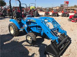 2016 ls tractor xj2025 tractor loader box cutter and trailer