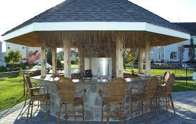 bar natural stone outdoor kitchen design outdoor home bar