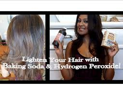 Do U Wash Hair Before Coloring - lighten your hair with baking soda and hydrogen peroxide youtube