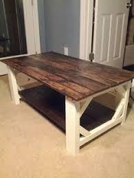 farmhouse coffee table set little bit of paint refinished coffee table furniture furniture