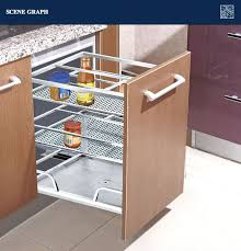 Stainless Steel Cabinet Pulls Sales Stainless Steel Kitchen Cabinet Pull Out Basket 201